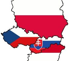 All the faces of Visegrad through different phases